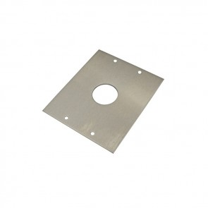 Videx SMP8881 Stainless steel back boxes for posts S/S mounting plate for 8881 to S/S post