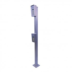 Videx SP910 Posts stainless steel Car/HGV height post 2000mm/1200mm high