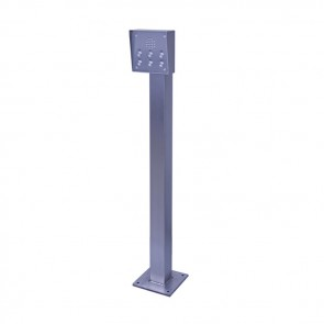 Videx SP911 Posts stainless steel HGV height post 2000mm high