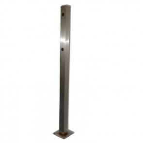 Videx SP920 Posts stainless steel Dual height pedestrian post 1600mm/1200mm high