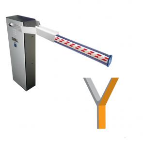 Vela Industrial Hydraulic 230v Inverter Barrier system with 8 meter arm